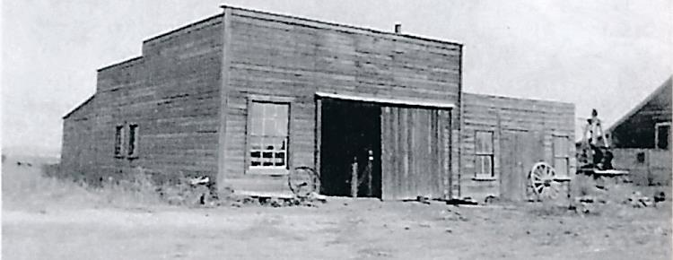 Chamberland's Blacksmith Shop in Big River.
