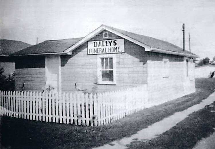Daley's Funeral Home.