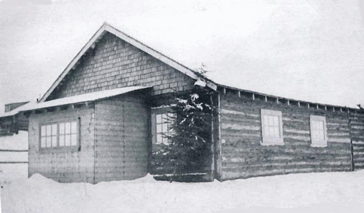 Andrew's Dance Hall at South Stoney 1942.