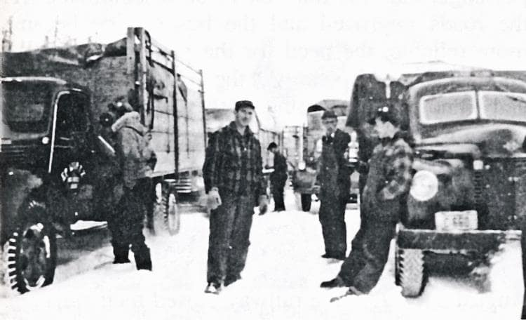 Between Beauval and Fort Black, 1947.