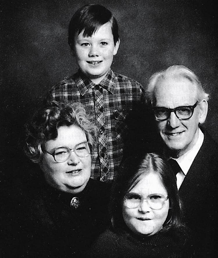 Kathleen, Derek and family.
