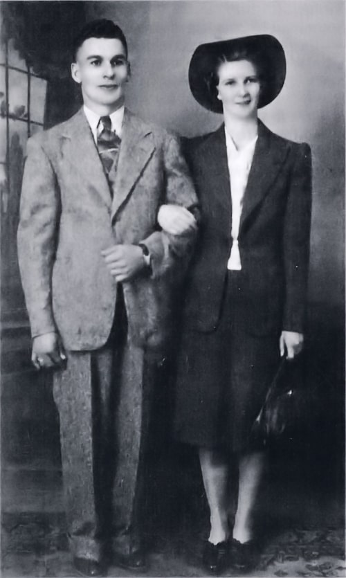 Bill and Marge, 1942.