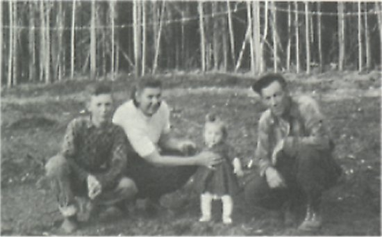 Left to right: Ferdie, Eileen, Donna and Harry Edquist.