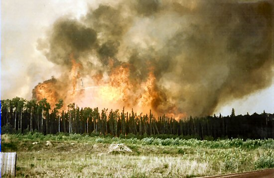 The Dore lake Fire.