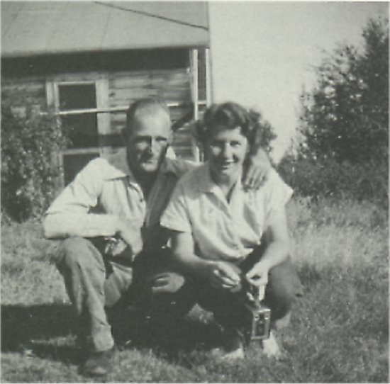 Robert and Bernice Snell, early 1950's.