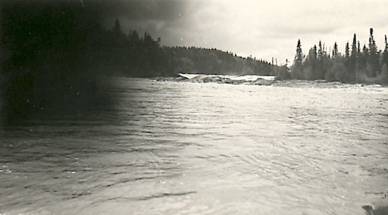 Rapids on a northern river