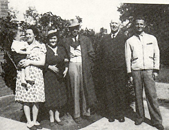 Left to Right: Gary and Reena Sixsmith, Mrs. and Dr. Afanasieff, J. S. Forbes, and Alex Afanasieff.