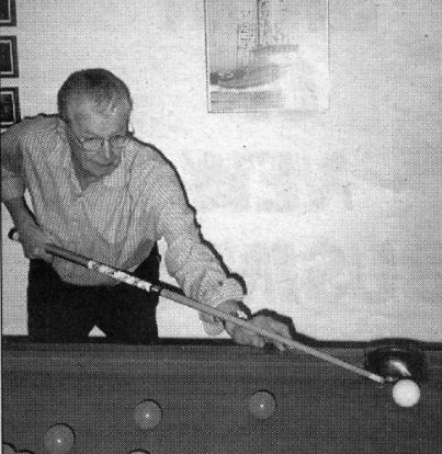 Ed Broome - Shooting pool instead of the bull in 1987.