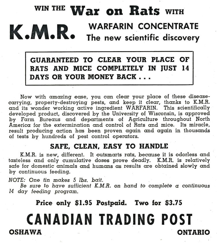 Canadian Trading Post Advertisment.